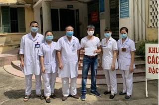 Nam Định công bố khỏi bệnh và cho xuất viện một bệnh nhân Covid-19