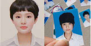 Giữa tin đồn dao kéo, Hiền Hồ tung ảnh thẻ thời học sinh để so sánh