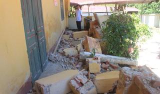 Nhiều phòng học ở huyện Lang Chánh bị sập trước ngày khai giảng