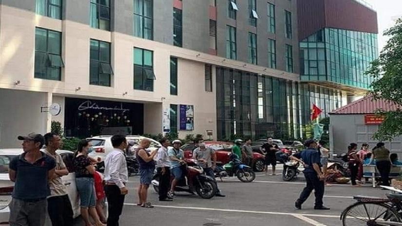 Phát hiện người đàn ông rơi từ tầng 21 chung cư tử vong
