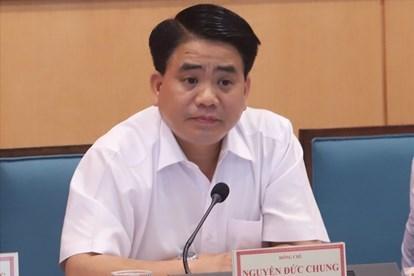 Chủ tịch Hà Nội Nguyễn Đức Chung bị khởi tố, bắt giam