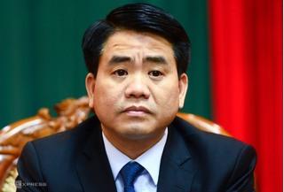 Bắt giam Chủ tịch UBND TP.Hà Nội Nguyễn Đức Chung