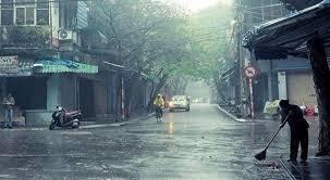 Cuối tuần Bắc Bộ mưa giông, Trung Bộ duy trì nắng nóng