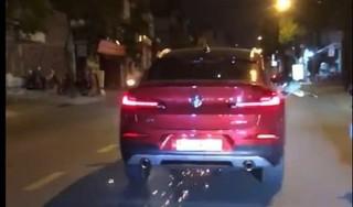 Sốc với nồng độ cồn của nữ tài xế lái xe BMW gây tai nạn rồi bỏ chạy
