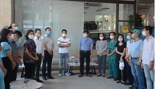 Các y, bác sỹ Bình Định và Thừa Thiên Huế 'rút quân' khỏi Đà Nẵng