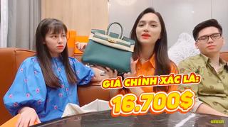 Hương Giang khiến fan choáng khi lần đầu 'đập hộp' gần 1 tỷ