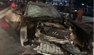 Khởi tố tài xế say rượu lái Lexus đâm chết cán bộ công an