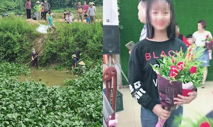 Phát hiện thi thể nữ sinh ở Bắc Ninh sau 5 ngày mất tích