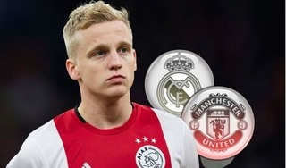 Man United đạt thỏa thuận mua Van de Beek từ Ajax