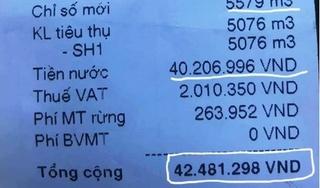 Tin tức pháp luật ngày 31/8: Ghi nhầm hóa đơn nước từ hơn 400 nghìn lên 42 triệu