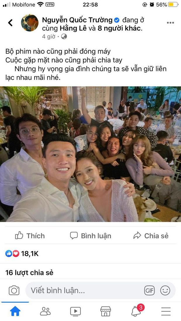 Fan rần rần khi Quốc Trường khoác vai chụp ảnh tình tứ cùng Bảo Anh