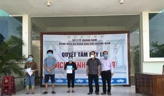 Thêm 7 bệnh nhân Covid-19 ở Quảng Nam được công bố khỏi bệnh