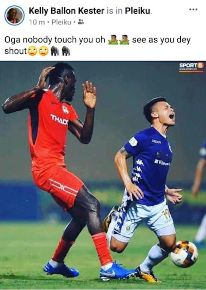 Tiền vệ HAGL chê Quang Hải hay ăn vạ trên sân cỏ