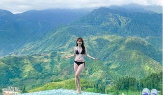 Bạn gái Quang Hải diện bikini khoe body nóng bỏng