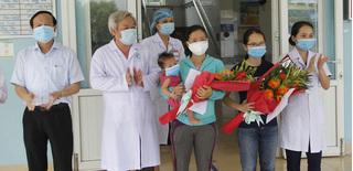 2 bệnh nhân Covid-19 đầu tiên ở Quảng Trị được xuất viện