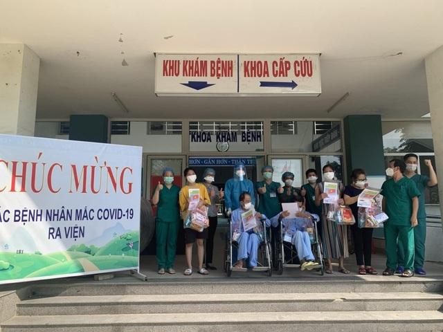 Thêm 11 bệnh nhân Covid-19 tại Đà Nẵng được xuất viện
