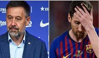 Bố Messi và chủ tịch Barca chưa thể thống nhất được quan điểm