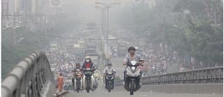 Sáng nay Hà Nội lọt top 10 thành phố ô nhiễm không khí nhất thế giới