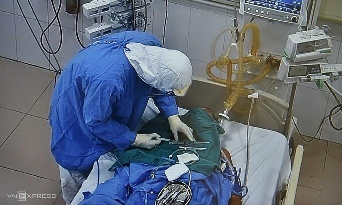Bệnh nhân Covid-19 mới ở Hải Dương tình trạng phổi rất xấu, tiên lượng nặng