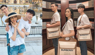 Gia đình Hoa Dâm Bụt rủ nhau diện túi hàng hiệu cực chất