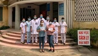 2 bệnh nhân Covid-19 cuối cùng tại Nam Định được xuất viện
