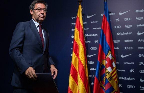 Chủ tịch CLB Barca Bartomeu bị cảnh sát Tây Ban Nha điều tra