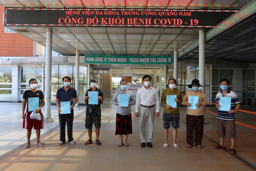 Quảng Nam công bố khỏi bệnh thêm 13 bệnh nhân Covid-19