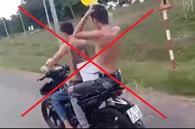 Tin tức trong ngày 4/9: Xử phạt 2 thanh niên vừa đi xe máy vừa tắm