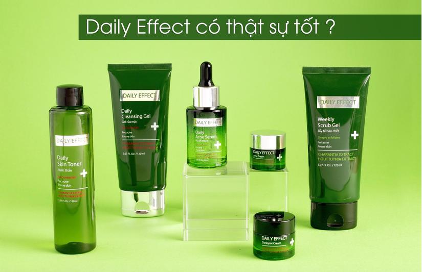 Dược mỹ phẩm Daily Effect có thật sự tốt như quảng cáo