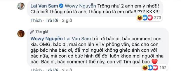 MC Lại Văn Sâm tự nhận nam rapper Wowy là anh em