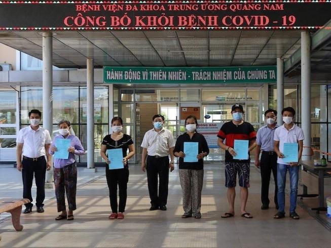 Quảng Nam cho xuất viện thêm 19 bệnh nhân Covid-19