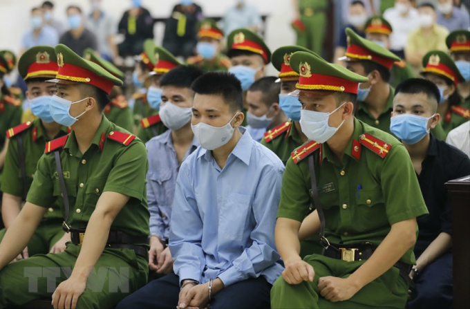 Hình ảnh đầu tiên từ phiên xét xử 29 bị cáo trong vụ Đồng Tâm