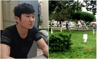 Bắt kẻ đâm chết nam thanh niên đang ngồi uống nước tại công viên