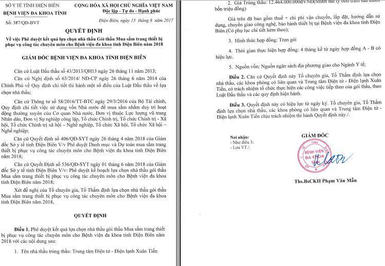 Đầu tư công tại BVĐK tỉnh Điện Biên02