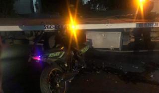 Tông vào xe cứu hộ giao thông, thanh niên đi Exciter tử vong