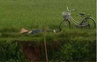 Thanh niên bị sét đánh tử vong khi đang làm đồng
