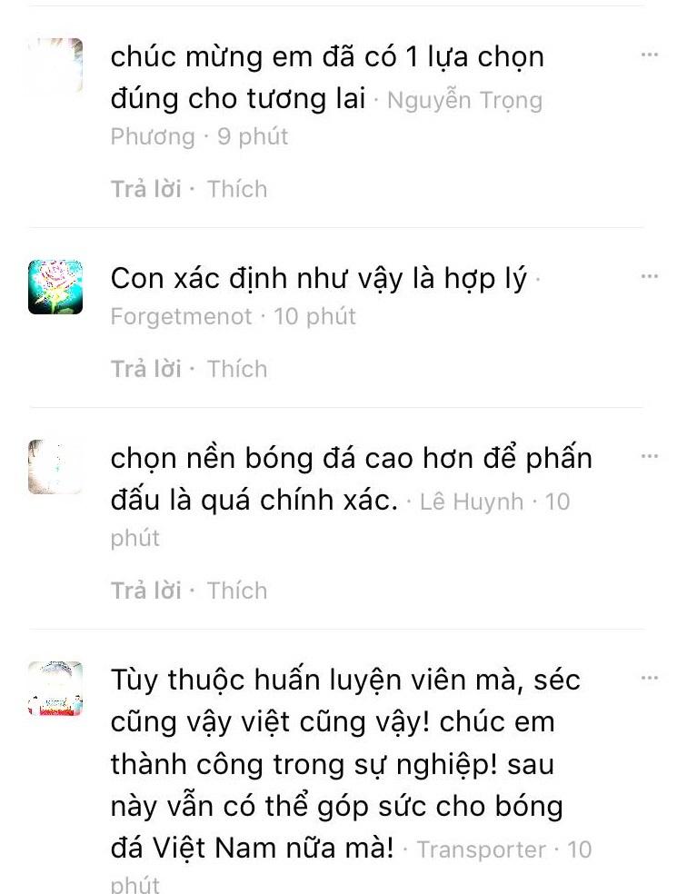 Người hâm phản ứng bất ngờ về quyết định của Filip Nguyễn