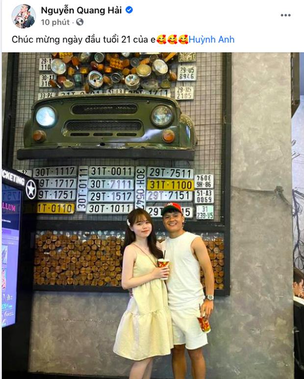 Bố mẹ Quang Hải đích thân tổ chức sinh nhật lần nữa cho Huỳnh Anh