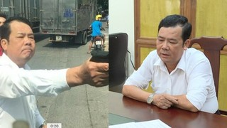 Bắt giám đốc công ty bảo vệ rút súng dọa tài xế ở Bắc Ninh