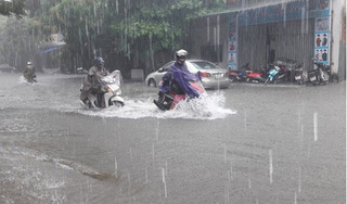 Các tỉnh Bắc Bộ mưa to diện rộng