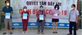 Thêm 4 bệnh nhân Covid-19 ở Quảng Nam khỏi bệnh, xuất viện về nhà