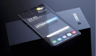 Samsung có thể cho ra mắt smartphone trong suốt trong tương lai