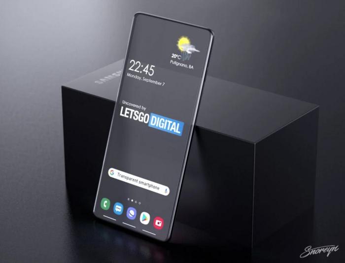 Samsung có thể sẽ cho ra mắt smartphone trong suốt trong tương lai