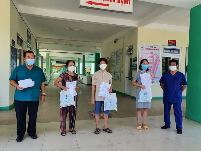 Đà Nẵng công bố khỏi bệnh thêm 4 bệnh nhân Covid-19