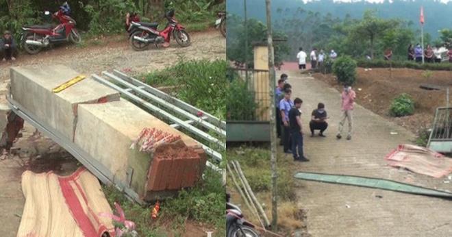 Nhận trách nhiệm vụ sập cổng trường làm 3 học sinh tử vong ở Lào Cai
