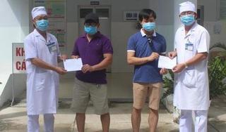 Bạc Liêu công bố khỏi bệnh và cho xuất viện 2 bệnh nhân Covid-19