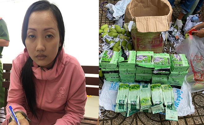 Chặn đứng 50kg ma túy từ biên giới về TP Hồ Chí Minh
