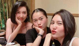 Lâm Vỹ Dạ đọ sắc cùng Thúy Ngân, Lan Ngọc trong tiệc sinh nhật muộn