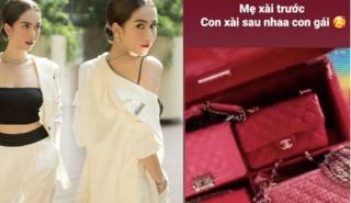 Ngọc Trinh mua sẵn set túi hàng hiệu để dành cho con gái tương lai