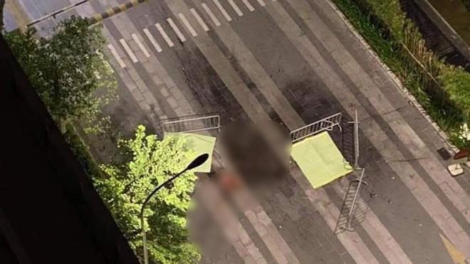 Hà Nội: Danh tính hai người rơi từ tầng cao chung cư xuống đất tử vong